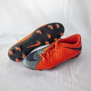 Nike Soccer Cleats - Orange & Grey - Size 9.5
